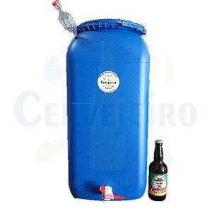 Fermentador/maturador Bombona 60 Litros Completa C/ Torneira
