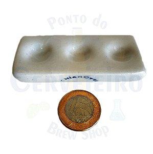 Placa de Toque de 3 Cavidades - Chiaroti