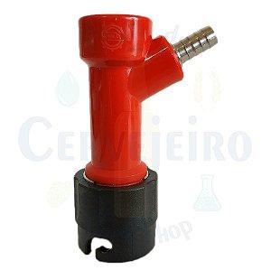 "Conector Pin Lock para liquido, espigao 1/4"""