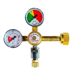 Regulador de Pressão SM CO2 com 1 Saída