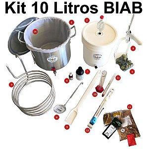 Kit para Produção de Cerveja 10 Litros BIAB