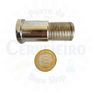Alongador Para Torneira Chopp 5/8 Kegerator 70mm