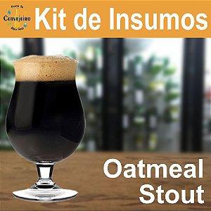 Kit Insumos Oatmeal (com aveia) Stout para Beermax 25L