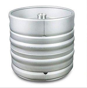 Barril de Aço Inox Modelo Euro 30 Litros