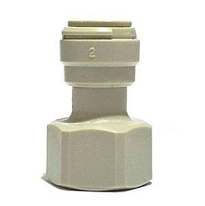 "DMFIT - Conexao rapida rosca femea 1/2"" BSP x tubo 3/8"""