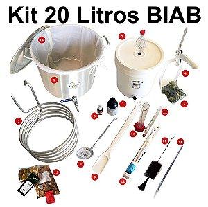 Kit para Produção de Cerveja 20 Litros BIAB