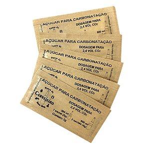 Sache de Açúcar para Carbonatação/Priming 50un