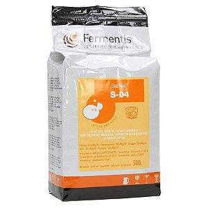 Levedura Fermento Fermentis S-04 500g
