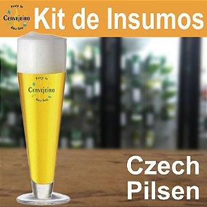 Kit Insumos Czech Pilsen (Bohemian Pilsener) do Ponto