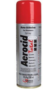 AEROCID TOTAL PRATA 200 ML