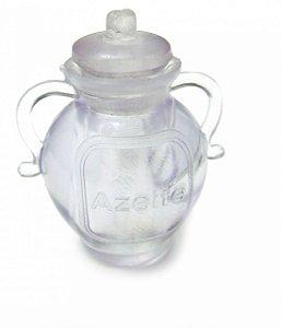 Botija acrílica transparente - 25 unidades