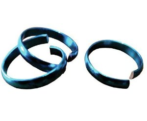 Aliança de Quebra azul- 100 unidades