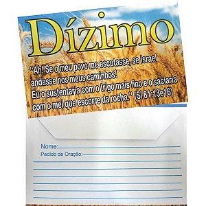 Envelope de Dízimo - 100 un