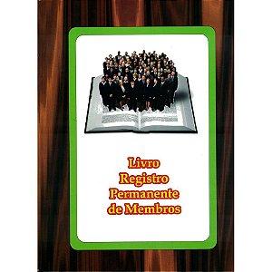 Livro Registro Permanente de Membros - 1 un