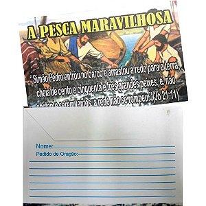 Envelope A Pesca Maravilhosa - 100 un