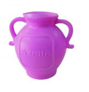 Botija de acrílico rosa - 25 un
