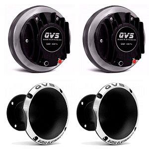 Kit 2 Drivers 430FE QVS + 2 Cornetas 1450 QVS