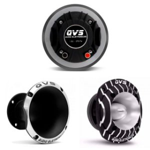 Kit 1 Driver 370FE QVS + 1 Corneta 1450 + 1 Super Tweeter 520 Trio