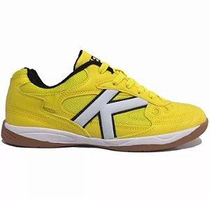 Tênis Futsal Kelme Copa - Amarelo e Branco