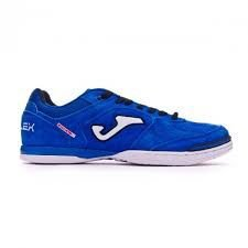 TENIS DE FUTSAL JOMA TOP FLEX 835 - ROYAL - BRANCO