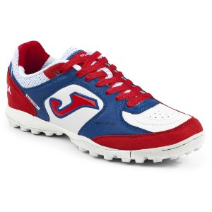 TENIS DE SOCIETY JOMA TOP FLEX TURF 820 - WHITE RED