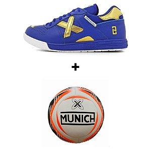 Kit Munich  Continental + Bola Munich - Azul
