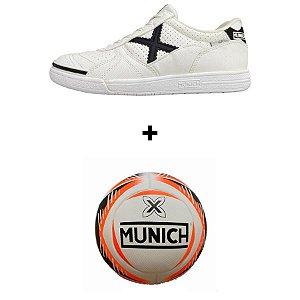 Kit Munich G3 + Bola Munich - Branco