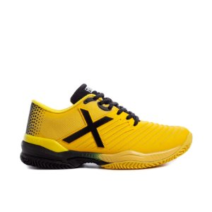Tenis de Padel Munich Padx 09 - Amarelo / Preto