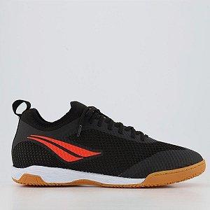 Tenis De Futsal Penalty Max 500 IX Locker  Botinha - Preto / Laranja