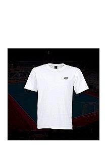 Camiseta Tradicional MDF  - Branco / Marinho / Cinza