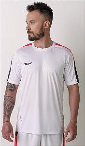 Camisa Topper Dominator Masculina - Branco e Pink