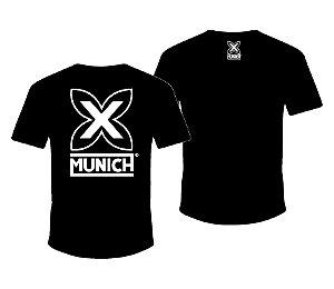 Camiseta Munich X   - Preto