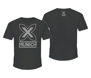 Camiseta Munich X   - Grafite