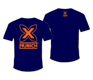 Camiseta Munich X   - Marinho