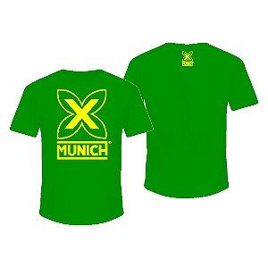Camiseta Munich X - Verde / Amarelo
