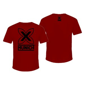 Camiseta Munich X - Vermelho