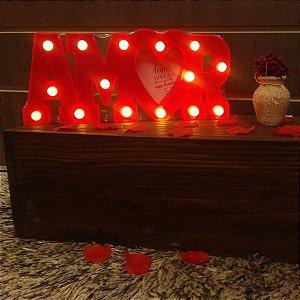 Luminária Led Amor Lindo Presente :)