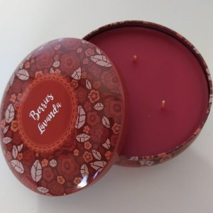 Vela decorativa aroma de Lavanda