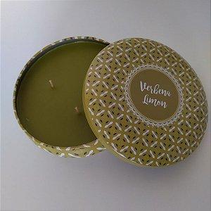 Vela decorativa aroma de Capim Limão