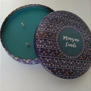 Vela decorativa aroma de Maça e Canela