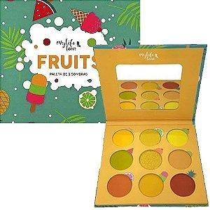 Paleta de sombra 9 cores Fruits My Life