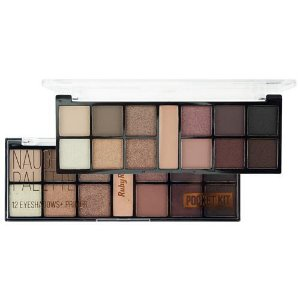 PALETA DE SOMBRAS POCKET NAUGHT BY NATURE RUBY ROSE