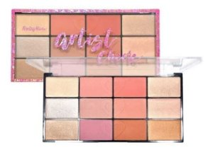 PALETA DE BLUSH E ILUMINADOR ARTIST CHEEK RUBY ROSE