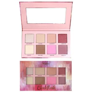 PALETA DE BLUSH CONTORNO E ILUMINADOR CHEEKFLUSH RUBY ROSE