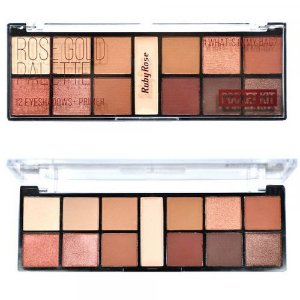 PALETA DE SOMBRAS ROSE GOLD RUBY ROSE