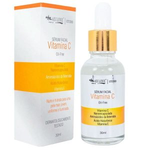SÉRUM FACIAL VITAMINA C OIL-FREE MAX LOVE