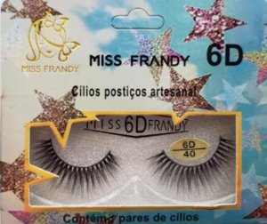 MISS FRANDY CÍLIOS POSTIÇOS ARTESANAL 6D