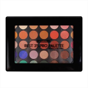 PALETA DE SOMBRA BEST 35 PRO PALETTE SP COLORS