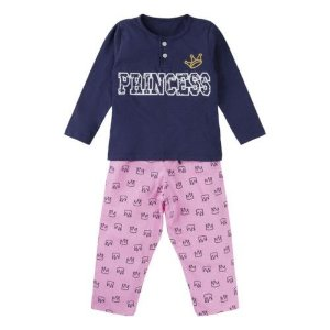 PIJAMA PRINCESS KIDS - BRILHA NO ESCURO