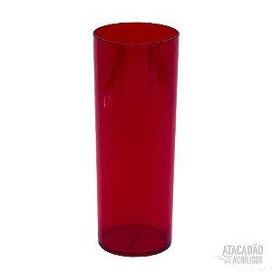 Copo Longdrink 355ml - Vermelho Rubi